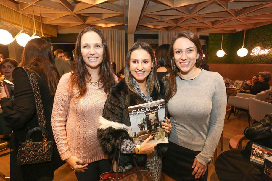 Arquitetas Clarice Volpi, Samara Barbosa e Samantha Sommer de Oliveira