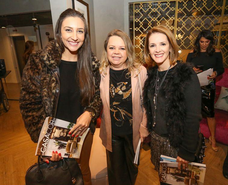 Arquitetas Maria Alice Crippa, Carla Grudtner e Alessandra Gandolfi