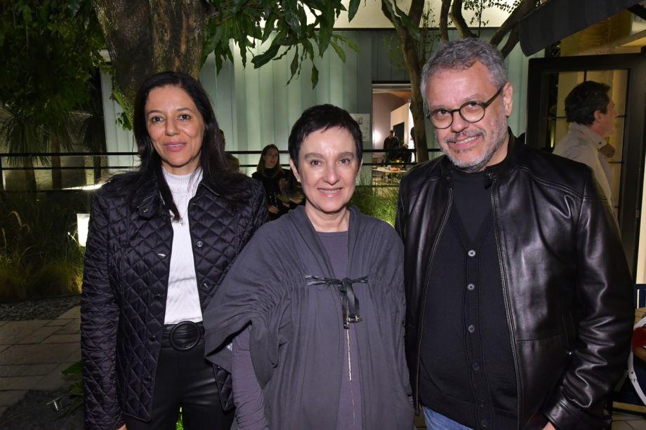 Cleide Gomes, Livia Pedreira e Carlos Fortes