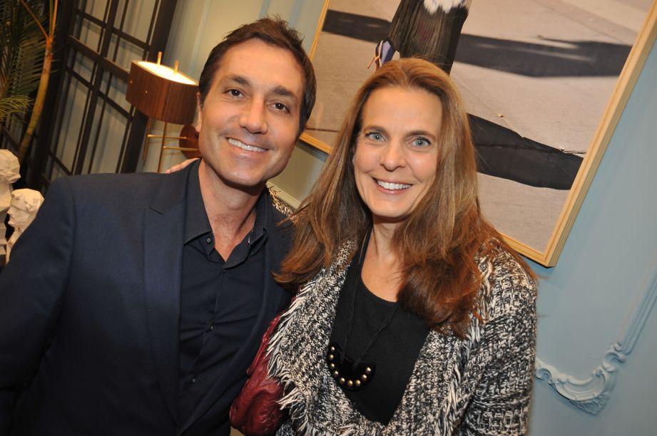 Fred Benedetti e Fernanda Abes