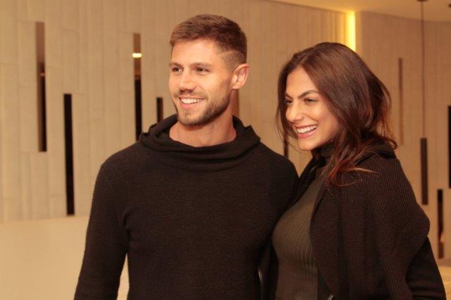 Jonas Sulzbach e Mariana Gonzalez