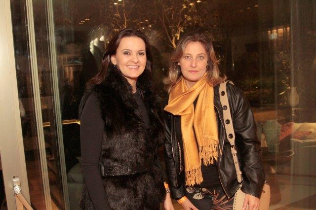 Juliana Zem e Zelita Majewski