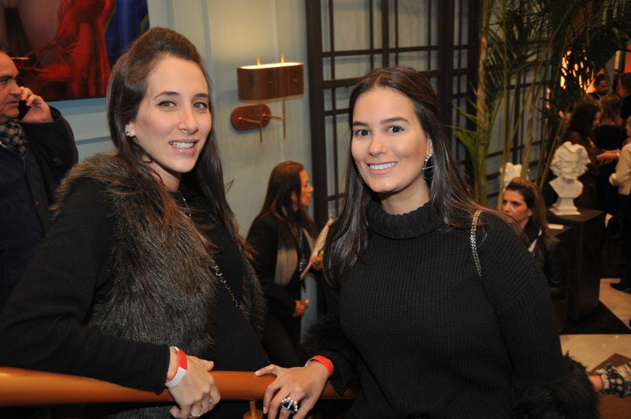 Samra Akade e Ana Elisa Hott