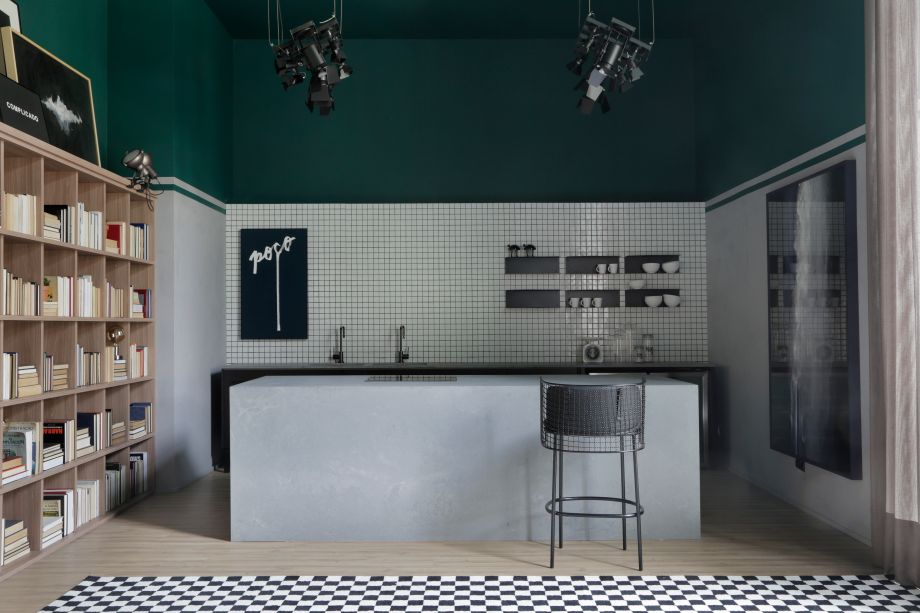 CASACOR São Paulo 2019. Casa Berilo Leroy Merlin - a escolha do nome vem da pedra Berilo, que simboliza a criatividade e o recomeço.