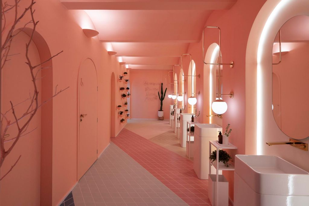 27 banheiros da CASACOR 2019 onde o design é essencial