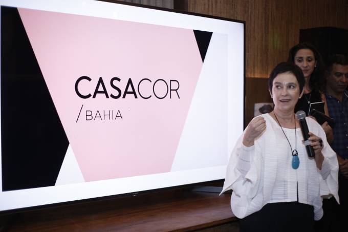 abertura Lívia Pedreira, presidente da CASACOR