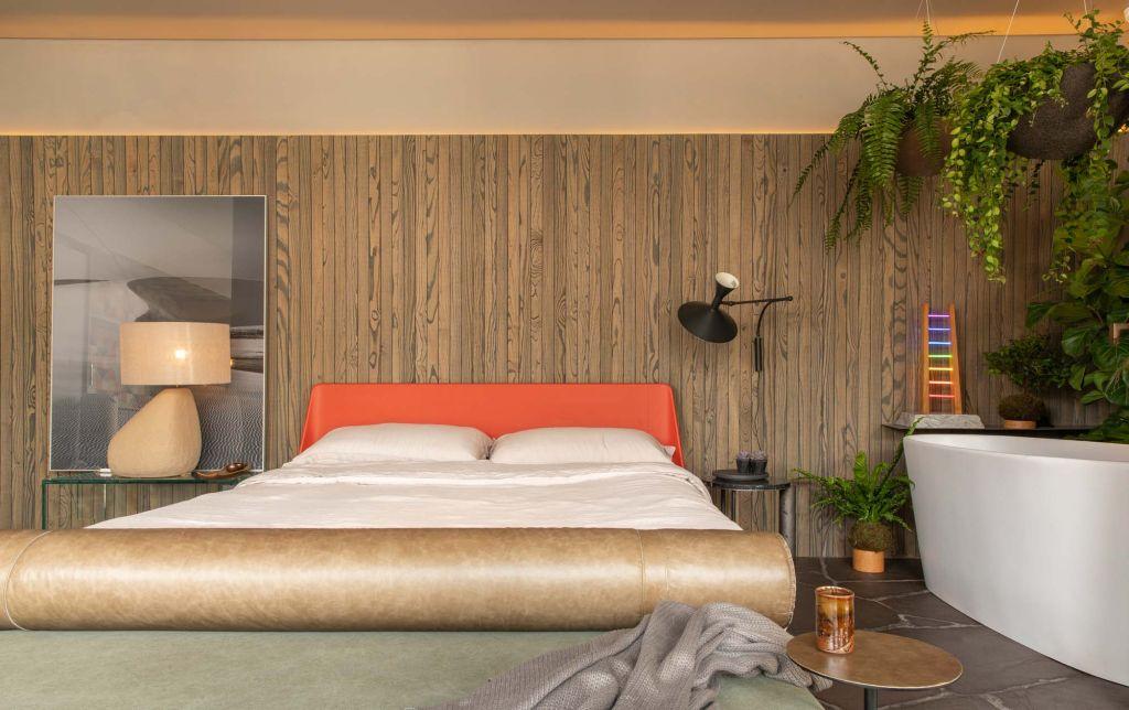Cabana urbana; plantas no quarto; casacor sp 2019