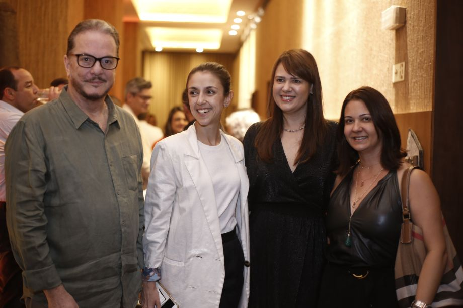 Carlos Amorim, Malu Neves e Adriana Barreto