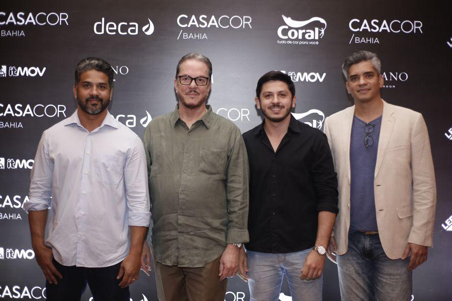Jean Esdras, Carlos Amorim, Matheus Freitas, Rui Espinheira
