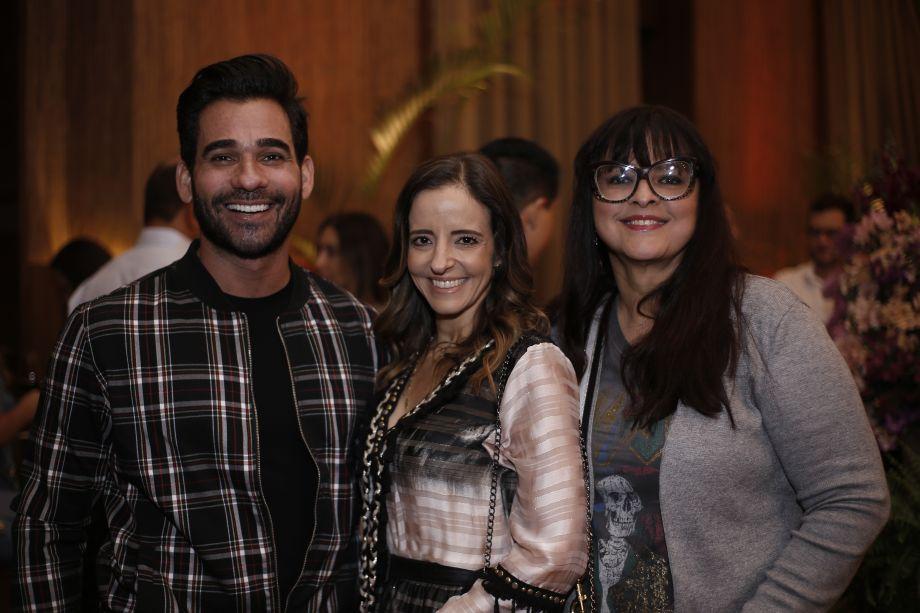 Marlon Gama, Sandy Najar e Ana Paula Magalhães
