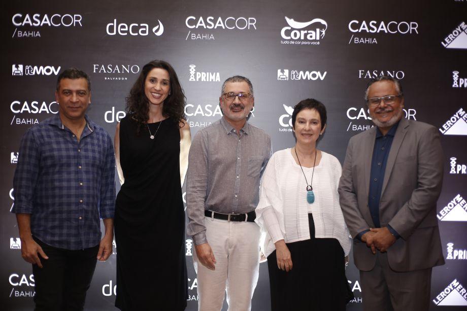 Pedro Ariel, Graziela de Caroli, Luiz Fernando de Almeida, Lívia Pedreira e João Carlos Oliveira