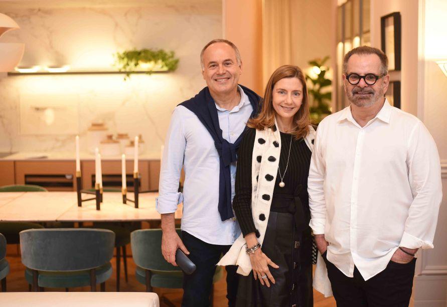 Gian Franco Ronchi, Fernanda Marcolini e Eduardo Machado