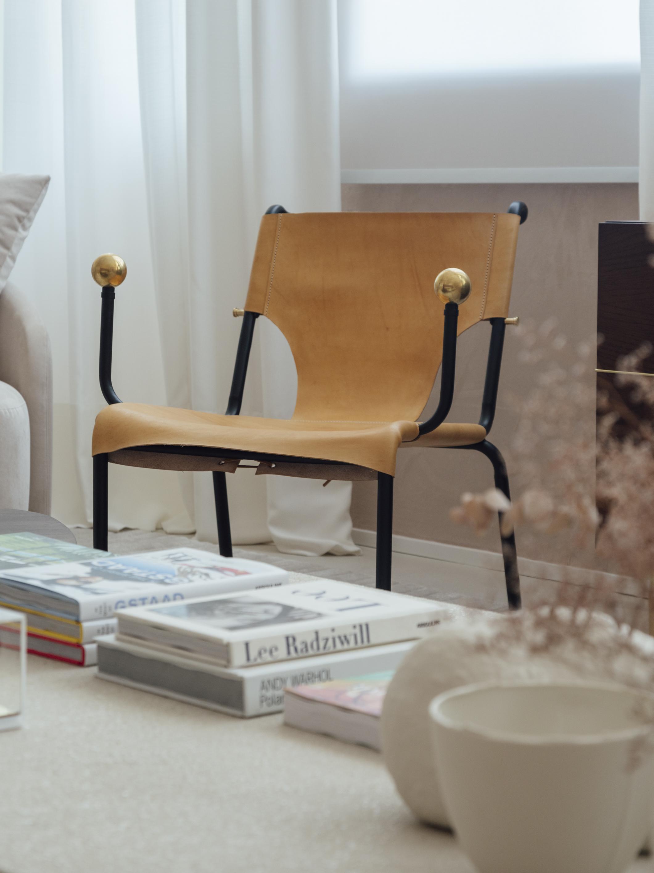 cadeira bola de latao lina bo bardi casacor poltrona
