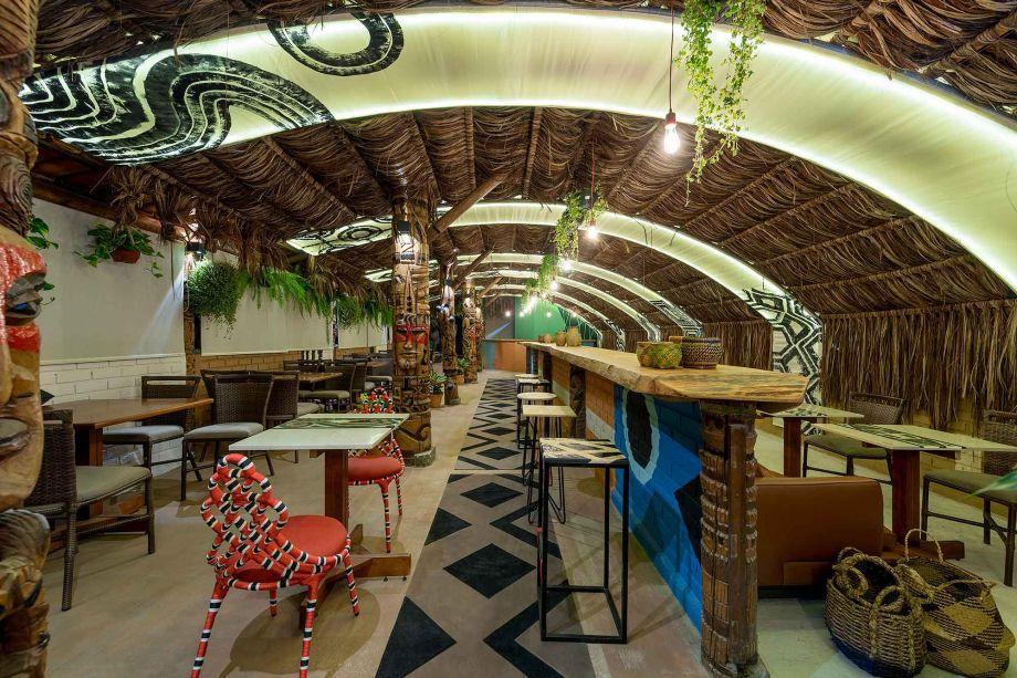 Restaurante Motírõ - <span>Ileon de Mello, Jordana Battisti e Marcelo Urizar. Vencedor na categoria Melhor Ambiente Comercial e de Uso Público.</span>