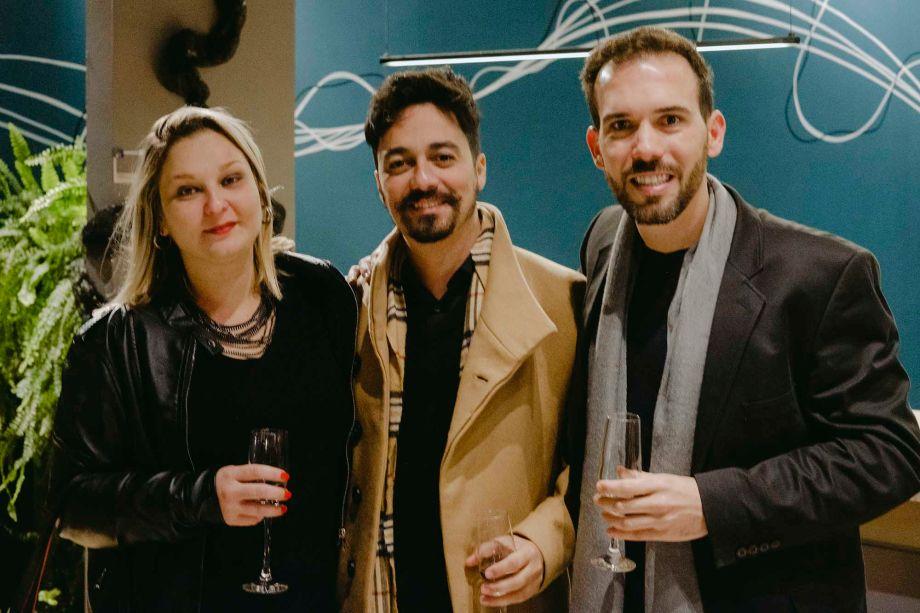 Carol Castellano, Marcelo Camargo e Jow Tardim