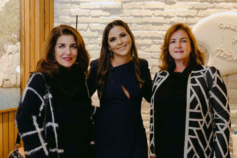 Cris La Rocca, Sárita Avila e Silvia Robusti