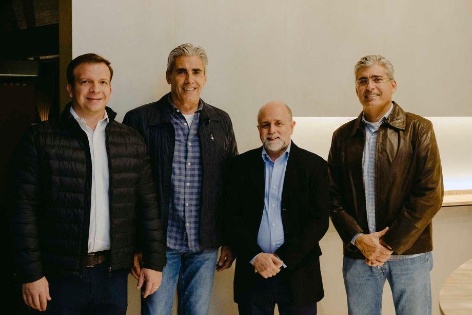 Julio Di Madeo, José Roberto Pereria Alvim, Maurício Siqueira e Joaquim Carlos Pereira Alvim