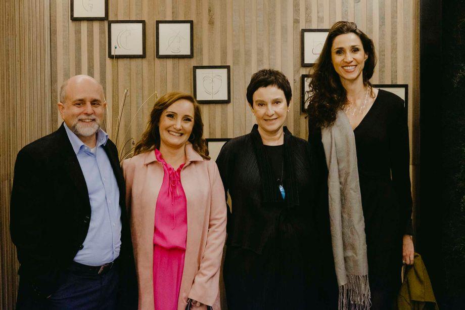 Maurício Siqueira, Adriana Fontana, Livia Pedreira e Graziela de Caroli