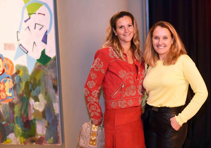 Viviane Caldas e Ana Horta