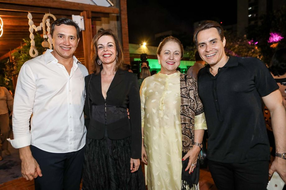Andrade Mendonça, Glaucia Andrade, Marise Castelo Branco e Francisco Campelo