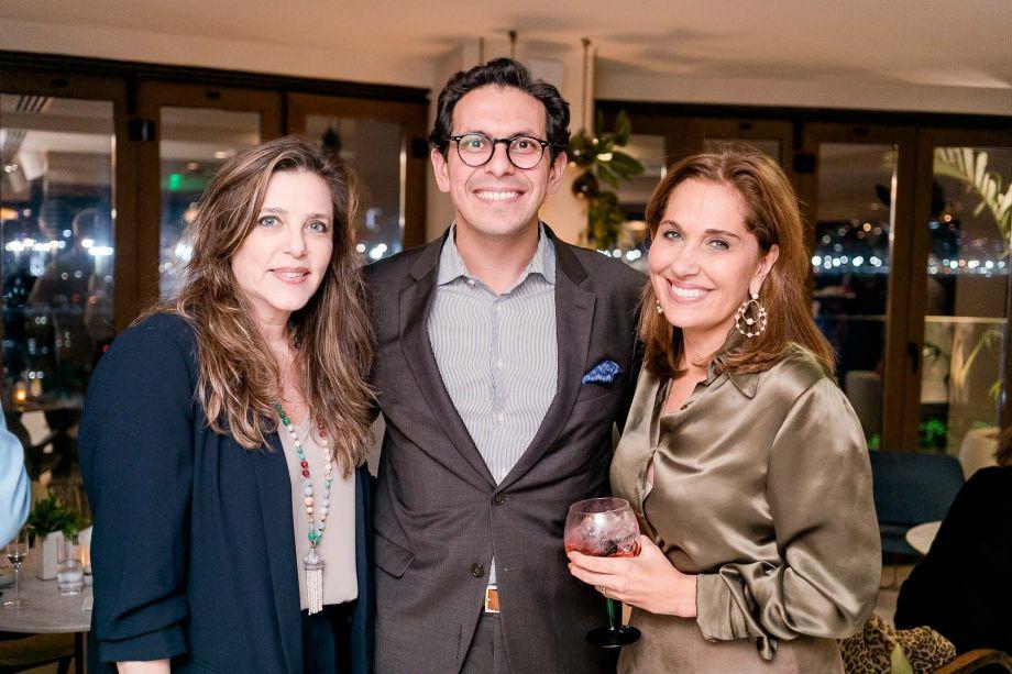 Andrea Repsold, Netto Moreira e Bebel Sampaio