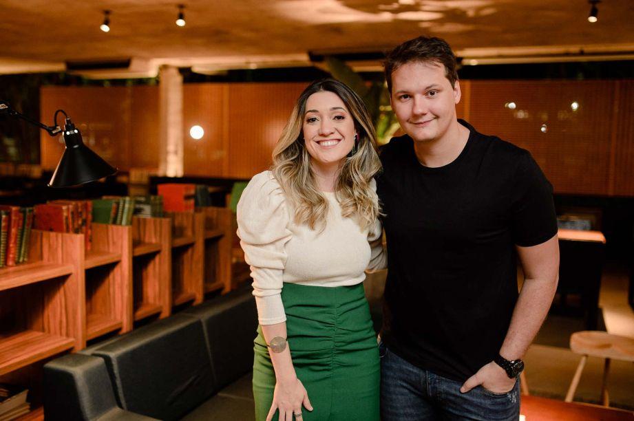 Priscila Gabriel e Ian Baiocchi