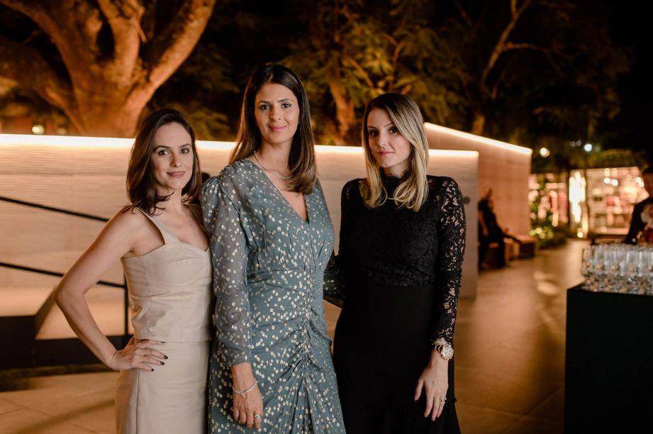 Renata Vieira, Juliana Velloso e Laisa Figueiredo