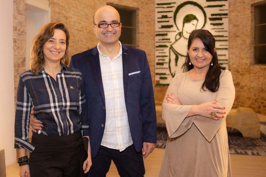 Gabriela Ordahy, Eduardo Becker e Aclaene de Mello.