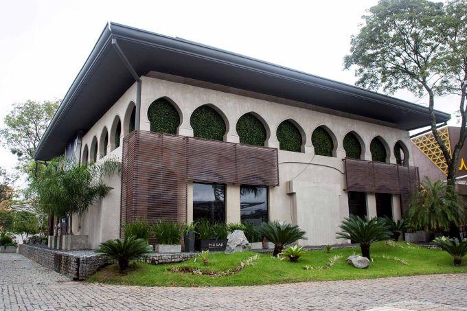 Fachada do edifíco Plaza Moiety, onde será realizada a CASACOR Paraguai em 2019