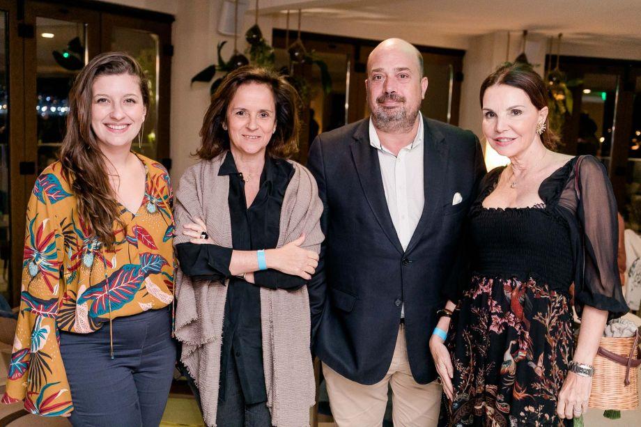 Camila Salgueiro, Patrícia Quentel, Michal Nagy e Patrícia Mayer
