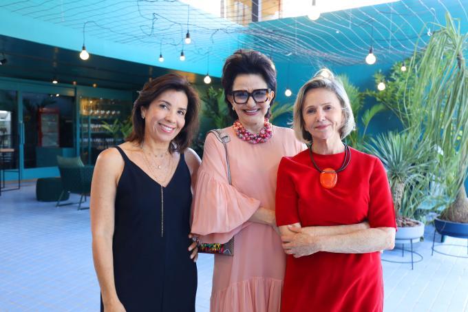 Eliane Martins, Moema Leão e Sheila Podestá