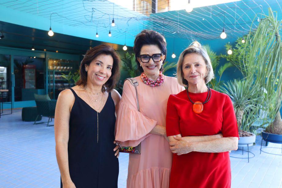 Eliane Martins, Moema Leão e Sheila Podestá.