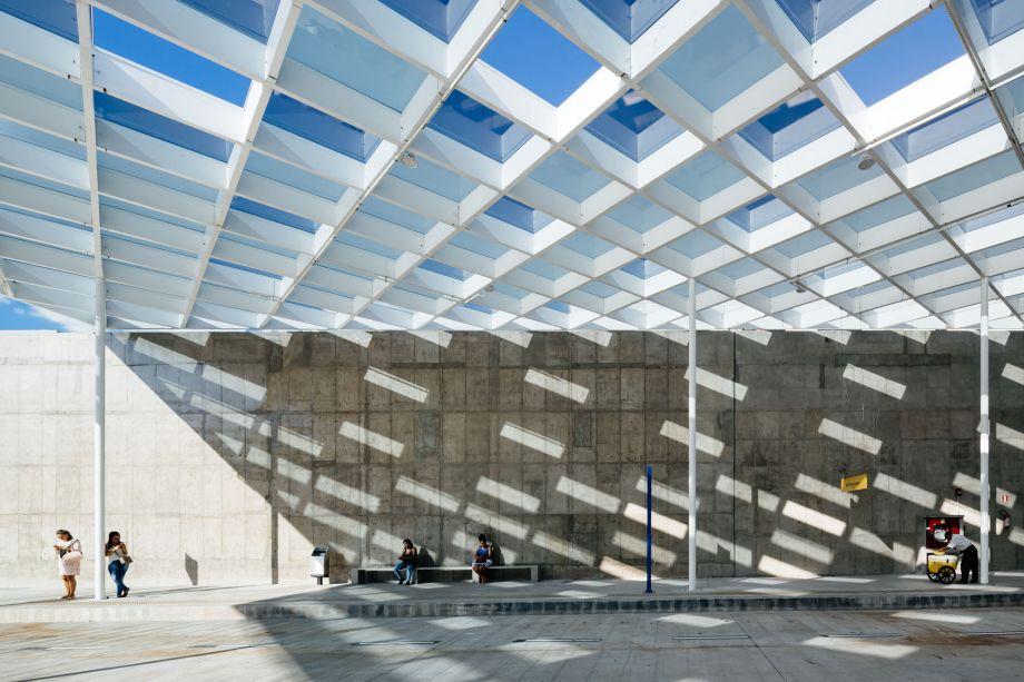 Estação do Metrô São Paulo-Morumbi projeto de 23sul arquitetura foto: Pedro Kok
