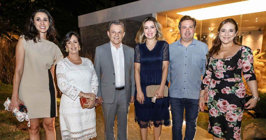Graziela de Caroli, Neuma Figueiredo, Sarto Nogueira, Onelia Leite, Samuel Dias e Patricia Macedo