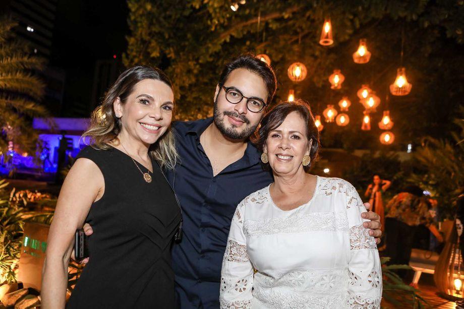 Lilian Porto, Vinicios Machado e Neuma Figueiredo
