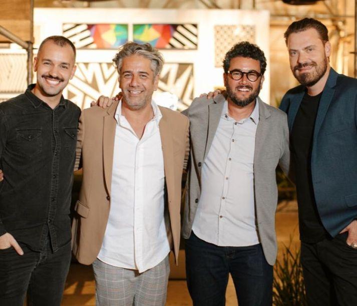 Lucas Durães , Daniel Tavares , Felipe Fontes e Marcus Pascholin