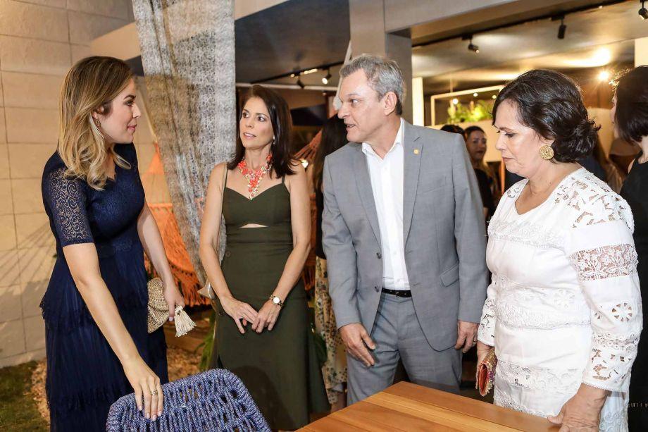 Onelia Leite, Cibelle Parreiras, Sarto Nogueira e Neuma Figueiredo