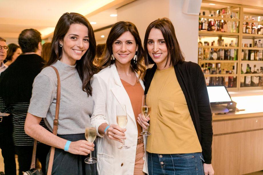 Paula Pupo, Natália Lemos e Isabella Lucena