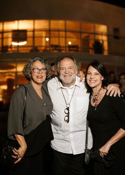 Tina, Gustavo e Laura Penna