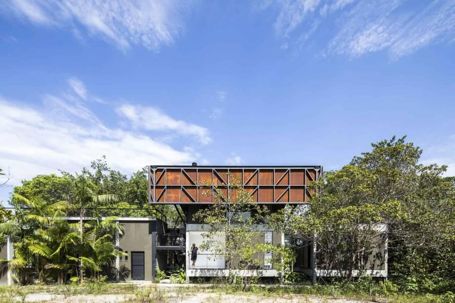 A Casa Campinarana de Laurent Troost se localiza em Manaus e foi vencedora de Casa Rural do Ano.