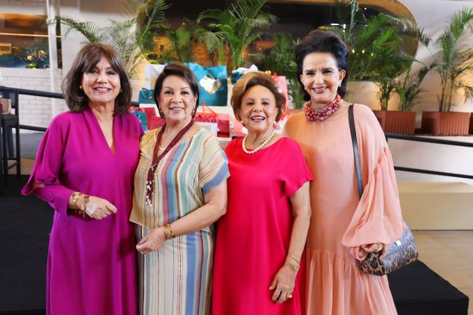 Ana Maria Gontijo, Heloiza Hargreaves, Maria Therezinha Falcão e Moema Leão