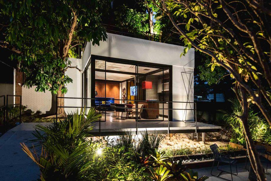 Na categoria Ambiente Sustentável, a Casa Bauhaus de Rosalinda Pinheiro ficou em primeiro lugar.