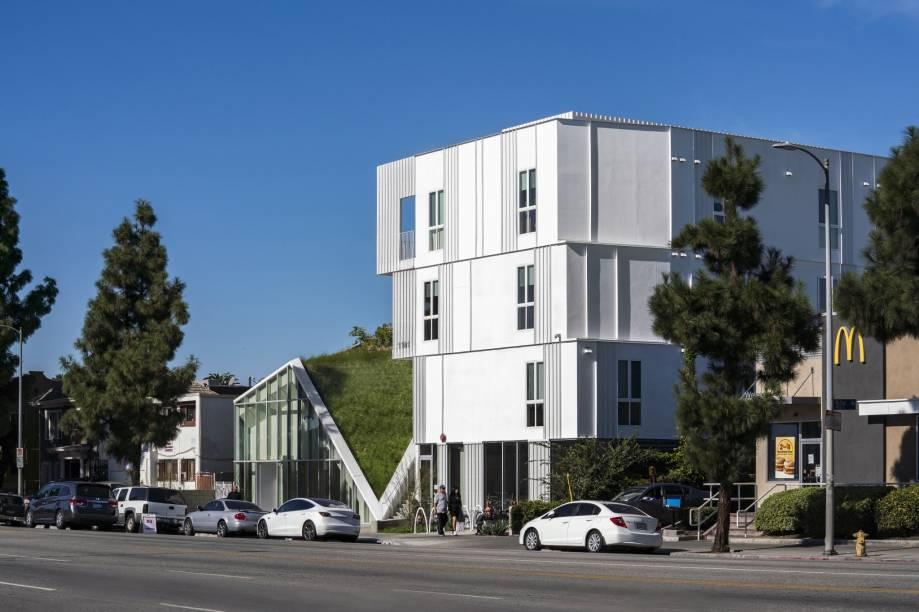 O escritório Lorcan O'Herlihy Architects (LOHA) foi vencedor da categoria Projeto Habitacional do Ano com a MLK1101 Supportive Housing, um projeto social aos desalojados de Los Angeles.