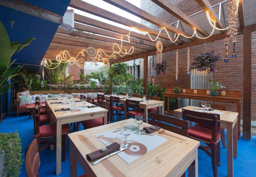 O restaurante Sertão Grego de Ney Filho levou a segunda melhor na categoria.