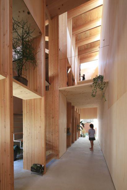 T Noie do escritório japonês Katsutoshi Sasaki + Associates, vencedor na categoria Casa Urbana do Ano.