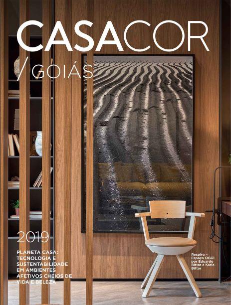 CASACOR Goiás - Espaço Respiro por Oggi, Eduardo e Karla Bittar