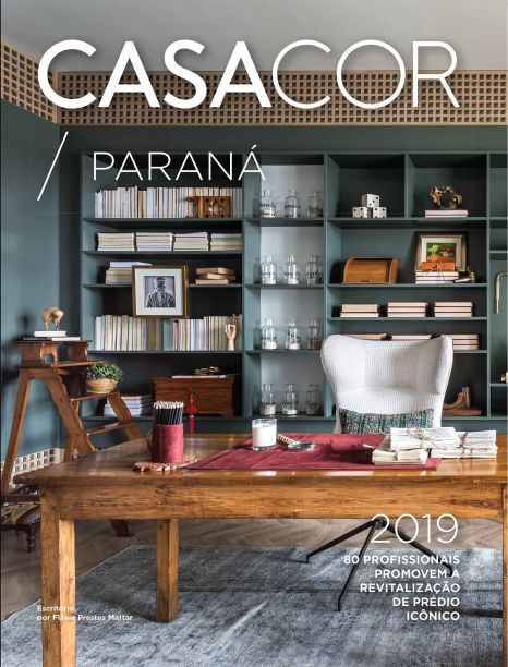 CASACOR Paraná - Escritório por Flavia Prestes Mattar