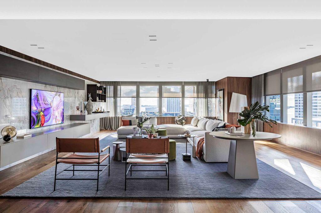 sala de estar; casacor; miami; 2019