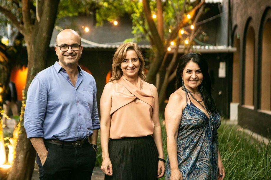 Eduardo Becker, Gabriela Ordahy, Aclaene de Mello.