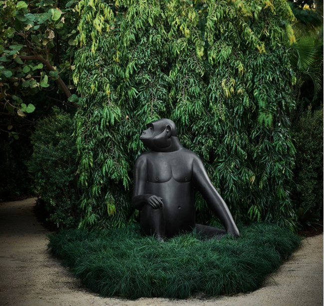 O The Raleigh Gardens, desenhado por Peter Marino e Raymond Jungles, a beira-mar, recebe a instalação Les Lalanne. Trata-se de uma homenagem a badalada dupla de designers Claude La lanne e François-Xavier Lalanne. De22 de novembro a fevereiro de 2020, na1775 Collins Avenue.